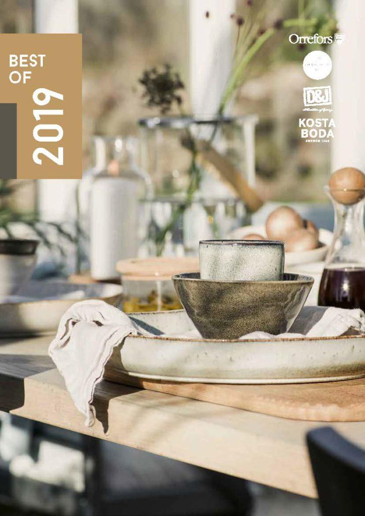 Best of 2019 Orrefors/Sagaform/D&J/KostaBoda